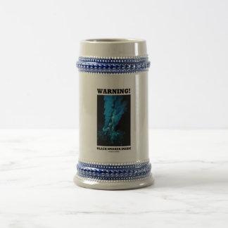 Warning! Black Smoker Inside (Sea Vent) Coffee Mugs