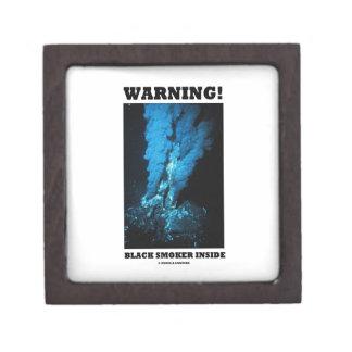 Warning! Black Smoker Inside (Sea Vent) Premium Gift Box