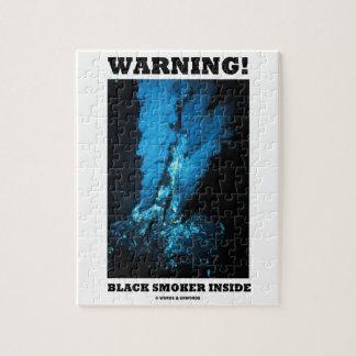 Warning! Black Smoker Inside (Sea Vent) Jigsaw Puzzles