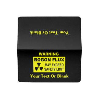 Warning: Bogon Flux Checkbook Cover