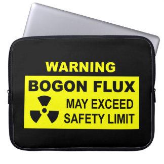 Warning: Bogon Flux Computer Sleeve