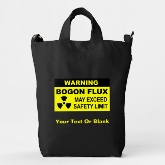 Warning: Bogon Flux Duck Bag