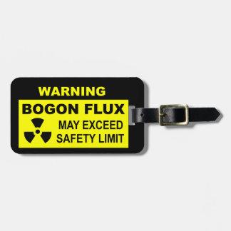 Warning: Bogon Flux Luggage Tag