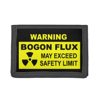 Warning: Bogon Flux Trifold Wallet