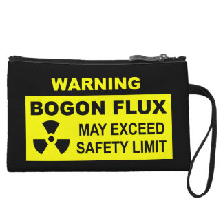 Warning: Bogon Flux Wristlet