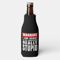 Warning - Bottle Cooler