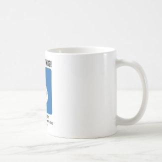 Warning! Breastfeeding Can Happen Anytime Anywhere Coffee Mug