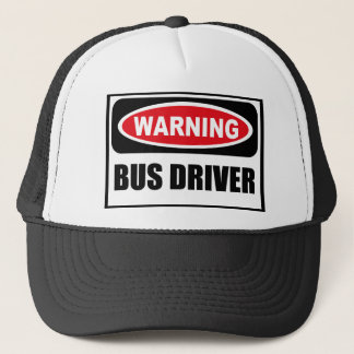 Warning BUS DRIVER Hat