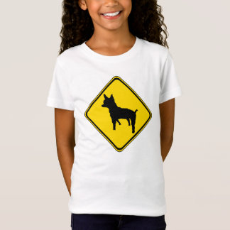 Warning - Chihuahua ahead! T-Shirt