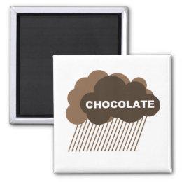 Warning: Chocolate Rain Magnet