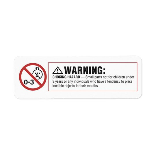 Warning Label For Vending Machine Sticker Decal