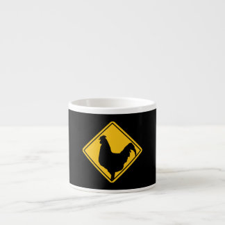 Warning: Cocky! Espresso Cup