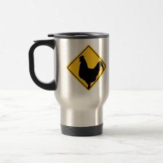 Warning; Cocky! Travel Mug
