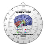 Warning! Cognitive Intervention Needed Dartboards