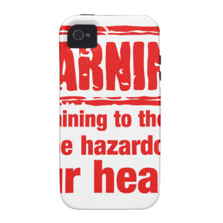 warning - Complaining to the cook may be hazardous iPhone 4/4S Covers