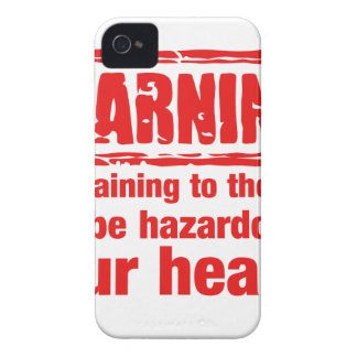 warning - Complaining to the cook may be hazardous Case-Mate iPhone 4 Case