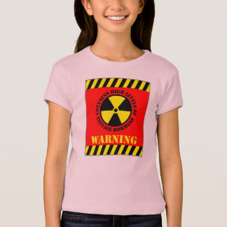 Warning Contains High Levels Of Teenage Hormone T-Shirt