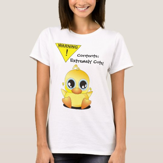WARNING: Contents Extremely Cute! T-Shirt