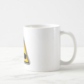 Warning Corrosive Sign Coffee Mug