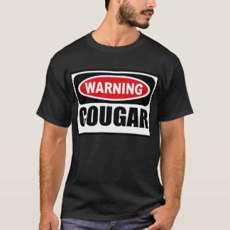 Warning COUGAR Men's Dark T-Shirt