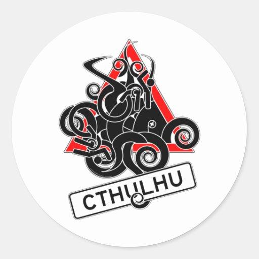 Warning: Cthulhu (UK) Stickers