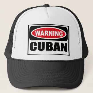 Warning CUBAN Hat