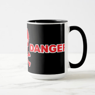 Warning Danger Mug
