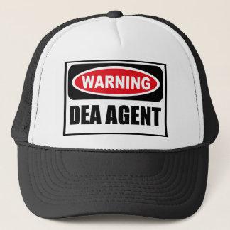 Warning DEA AGENT Hat