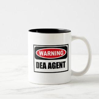 Warning DEA AGENT Mug