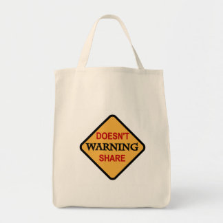 Warning-Doesn't  Share Tshirts and Gifts Bags