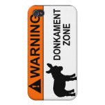 Warning: Donkament Zone iPhone 4/4S Case
