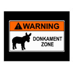 Warning: Donkament Zone Postcards