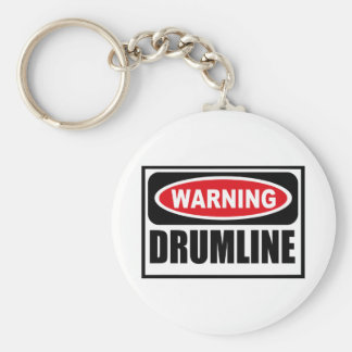 Warning DRUMLINE Key Chain