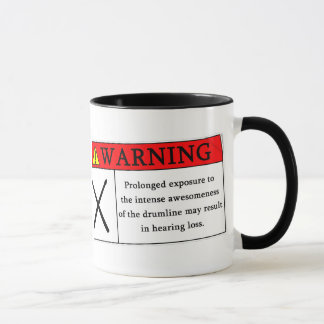 Warning Drumline Mug