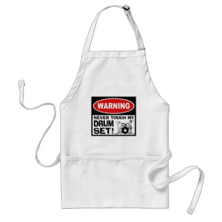 WARNING - DRUMS ADULT APRON