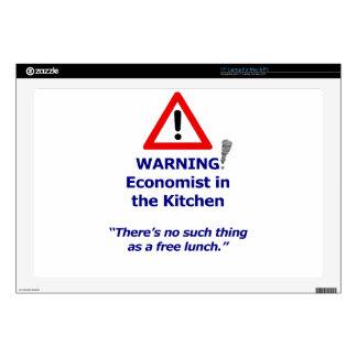 Warning: Economist in the Kitchen! Laptop Skins