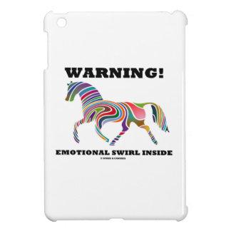 Warning! Emotional Swirl Inside iPad Mini Covers