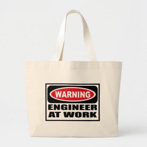Warning ENGINEER AT WORK Bag