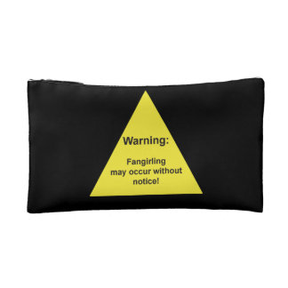 """""""Warning: Fangirling may occur without notice"""" bag"""