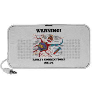 Warning! Faulty Connections Inside Neuron Synapse Travelling Speakers