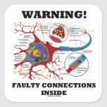 Warning! Faulty Connections Inside Neuron Synapse Stickers