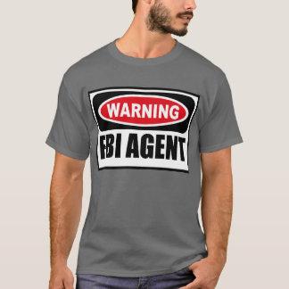 Warning FBI AGENT Men's Dark T-Shirt