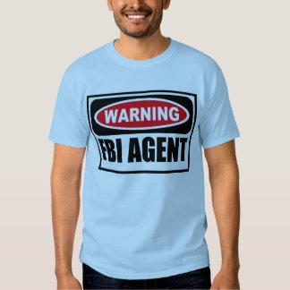 Warning FBI AGENT Men's T-Shirt