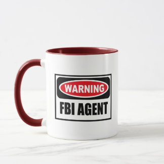 Warning FBI AGENT Mug