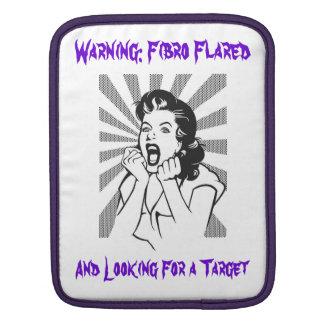 Warning: Fibro Flare iPad Sleeve