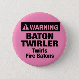 Warning Fire Batons Button