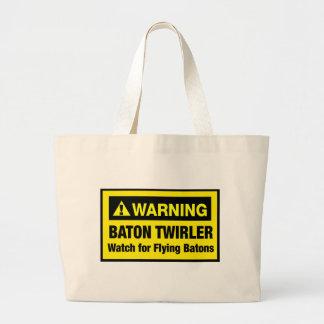 Warning Flying Batons Bag