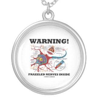 Warning! Frazzled Nerves Inside (Neuron / Synapse) Pendant