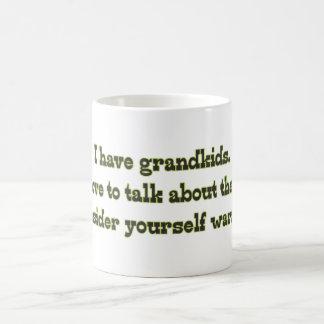 Warning from Grandparents Coffee Mug