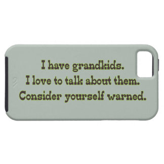 Warning from Grandparents iPhone SE/5/5s Case